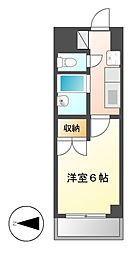 サンハイツオオイケ[2階]の間取り