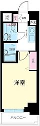 東京都渋谷区恵比寿1丁目の賃貸マンションの間取り