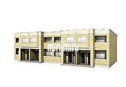 仮)大治町長牧新築アパート[1階]の外観