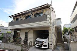 東京都北区田端2丁目の賃貸アパートの外観