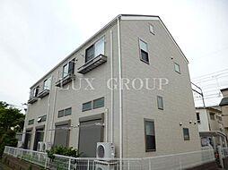 東京都立川市羽衣町1の賃貸アパートの外観