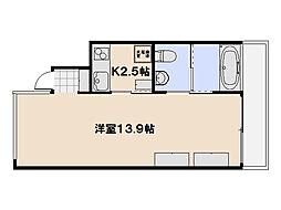 NAS SCOPE[2階]の間取り