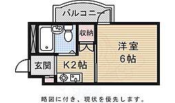 福島町駅 2.5万円