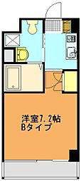 リバティゲート[206号室]の間取り