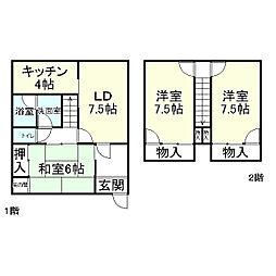 石山駅 750万円