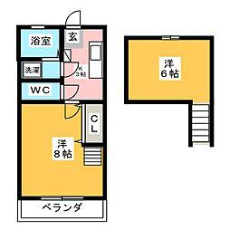 エールIII[2階]の間取り