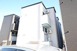 埼玉県川口市北原台1の賃貸アパートの外観