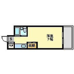 ロイヤルメゾン塚口13[2階]の間取り