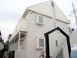 埼玉県越谷市東越谷5の賃貸アパートの外観