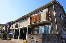 広島県広島市安佐南区長束5丁目の賃貸アパートの外観