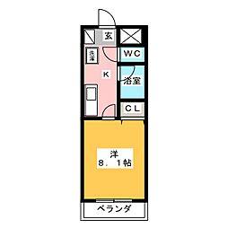 UMEXー7[6階]の間取り