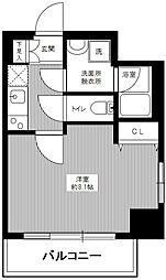 東京都墨田区緑2丁目の賃貸マンションの間取り