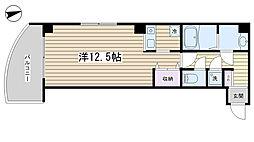 セラクルーレ田端[401号室]の間取り