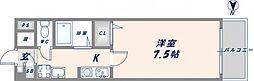 エムズコンフォート[3階]の間取り