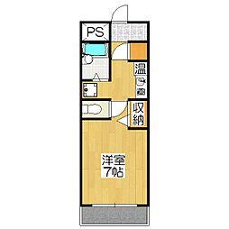 東方ビル[3F号室]の間取り