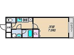 エスティームII番館[1階]の間取り