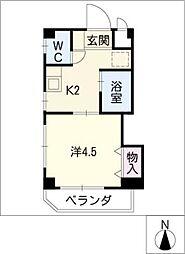 津島MICマンション[4階]の間取り