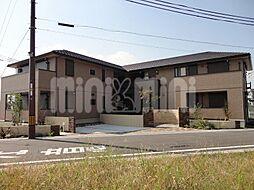 大阪府茨木市玉島台の賃貸アパートの外観