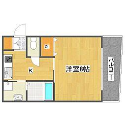 LIVESQUARE2[3階]の間取り