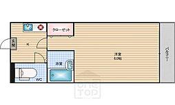 JUNWAマンション[203号室]の間取り