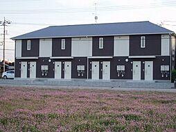 山口県山陽小野田市大字西高泊の賃貸アパートの外観