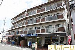 大阪府大阪市平野区瓜破東3丁目の賃貸マンションの外観