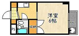 ロード[304号室]の間取り