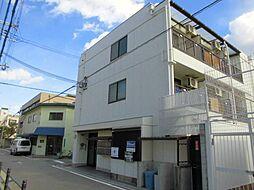 大阪府大阪市阿倍野区桃ケ池町1丁目の賃貸マンションの外観