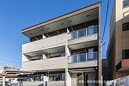 東宿郷3丁目アパート[2階]の外観