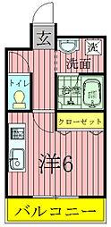 興亜第3マンション[1階]の間取り