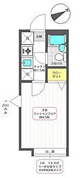 サンドレイク青井Ⅰ[1階]の間取り