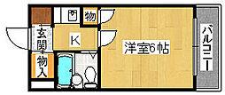 プレアール堺東[2階]の間取り