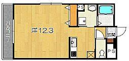 ガーデンコート洛西[2階]の間取り