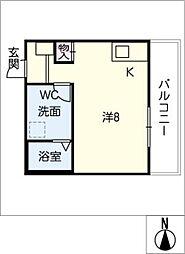 LE COCON新川町[2階]の間取り