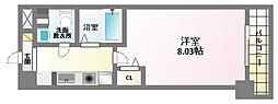 エイチ・ツー・オー東住吉II番館[5階]の間取り