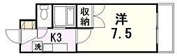 センチュリー曙II[3階]の間取り