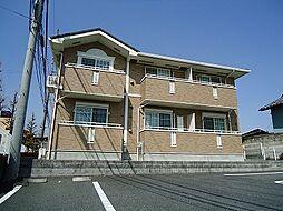 群馬県前橋市総社町総社の賃貸アパートの外観