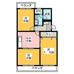 ソフィアガーデン[3階]の間取り