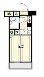 神奈川県横浜市旭区さちが丘の賃貸マンションの間取り