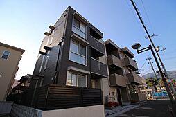 兵庫県神戸市灘区六甲町5丁目の賃貸アパートの外観