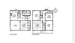 [一戸建] 神奈川県茅ヶ崎市赤松町 の賃貸【/】の間取り