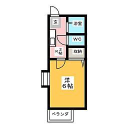 メゾン宮根台[2階]の間取り