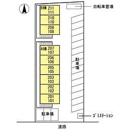 ワンズ18 A棟[206号室]の外観