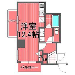 サンクレイドル横濱[4階]の間取り