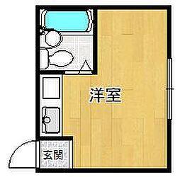 シェルプール21[A号室]の間取り