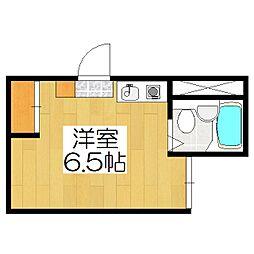 BIOS京都西陣AYANAS[305号室]の間取り