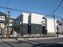 東京都足立区鹿浜5丁目の賃貸アパートの外観