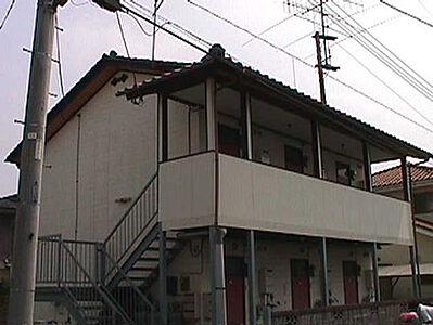 外観,1K,面積17.39m2,賃料1.9万円,JR常磐線 水戸駅 4km,,茨城県水戸市袴塚