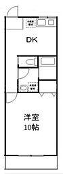 Kフィールド杉田[1階]の間取り