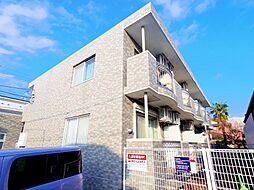 東京都東村山市萩山町1の賃貸マンションの外観